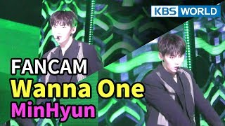 [FOCUSED] Wanna One's Hwang Minhyun - Boomerang [Music Bank / 2018.04.06]