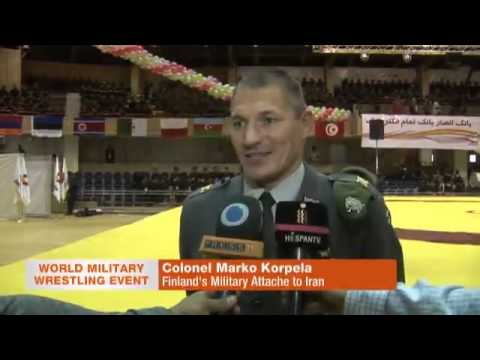 Video Iran hosts 28th world military wrestling competitions download in MP3, 3GP, MP4, WEBM, AVI, FLV January 2017