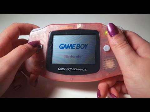 ASMR. Game Boy Advance Button Pressing (No Game Sounds)