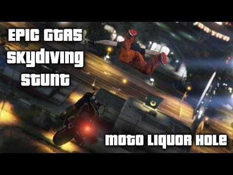 Liquor Hole GTA V stunt