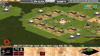 Liên Quân vs GameTV C2T4, ngày 30/08/2015, game đế chế, clip aoe, chim sẻ đi nắng, aoe 2015