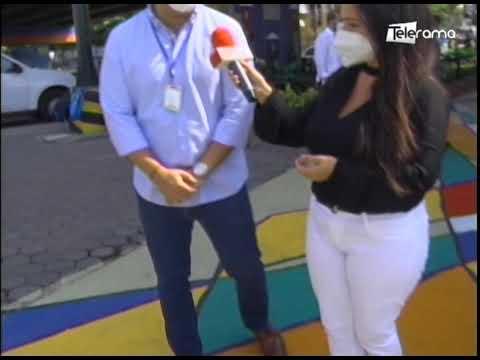 Se inaugura nuevos pasos cebras en Av. Plaza Dañin de Guayaquil