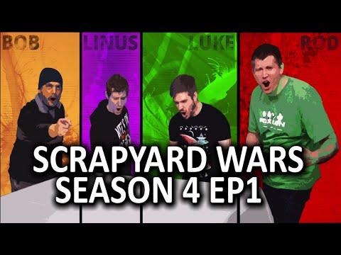 Modded Gaming PC Challenge - Scrapyard Wars Season 4 - Episode 1