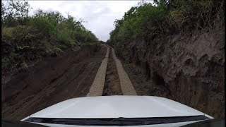The 10 minute access road to Yasur Volcano, Tanna Island, Vanuatu, in real time speed. With Thomas from Yasur View Lodge,