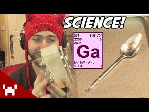GALLIUM MELTING SPOON! (Science w/ Ze)