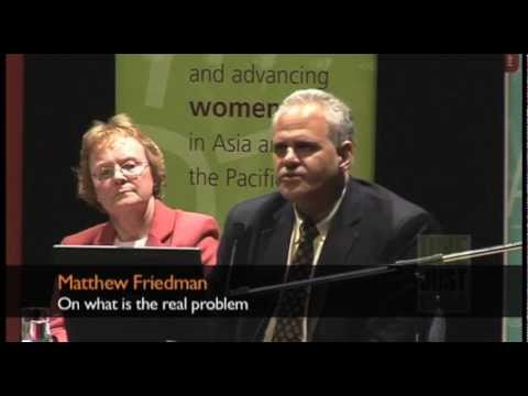 Matthew Friedman on 'What is the real problem?'