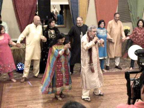Parents Dance at Deepa Sangeet
