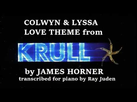 Piano Solo   Colwyn and Lyssa Love Theme from KRULL