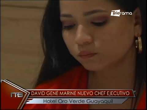 David Gené Mariné nuevo chef ejecutivo Hotel Oro Verde Guayaquil
