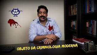 Objeto da Criminologia