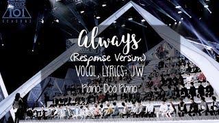 Download Lagu [ENGLISH COVER]  Produce 101 [프로듀스101] - 이 자리에 Always Response Version Mp3