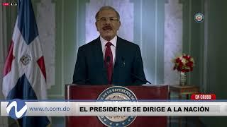 Nuria Piera en vivo: Danilo Medina habla a la Nación
