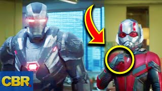 5 Crucial Things Everyone Missed From The Marvel Avengers Endgame Trailer #2