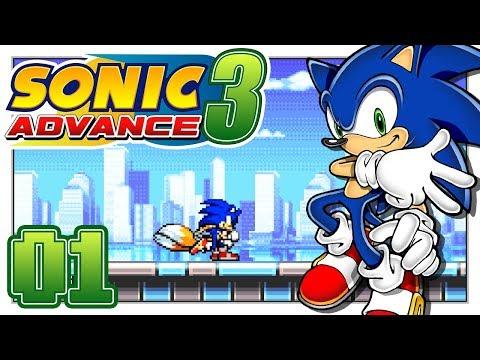 Sonic Advance 3 - Help Us Omochao! - Part 1