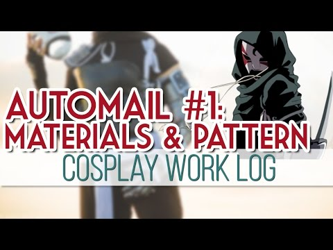cosplay - The first part of my Automail build series! This video is primarily an introduction to the project, going over the materials I'll be using and the basic patterning technique of the armor. ...