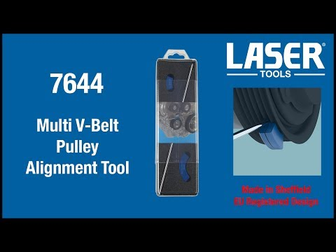7644 Multi V Belt Pulley Alignment Tool