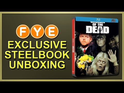 Shaun Of The Dead FYE Exclusive SteelBook Unboxing