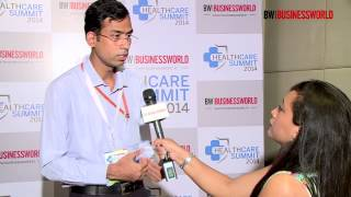 Dr Jitendar Sharma speaking at BW|Businessworld Healthcare Summit 2014