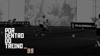 Confira o último treino do Timão antes de enfrentar o Atlético Paranaense amanhã na Arena Corinthians!