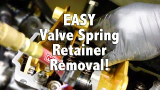 10. How To Replace Your Sea-Doo Rotax Engine Valve Spring Retainers