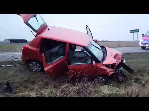 Wideo1: Wypadek w Szelejewie II