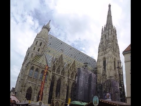 St Stephen's Cathedral (Stephansdom) at Stephenplatz, VIENNA, AUSTRIA 11 May 2018