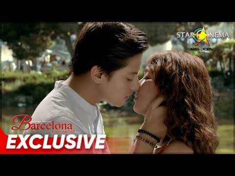 KathNiel's First Kiss | Barcelona: A Love Untold's 2nd Anniversary | Barcelona: A Love Untold