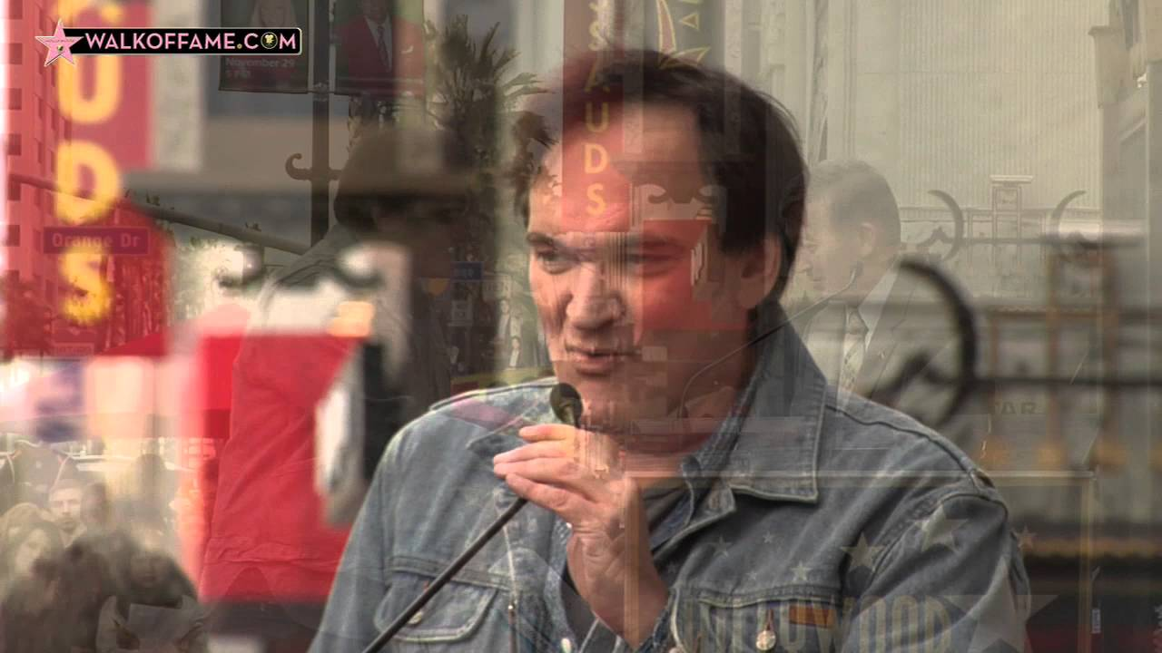 Watch: Quentin Tarantino Honored With Star on Hollywood Walk of Fame in from of TCL Chinese Theatre