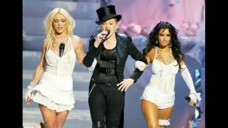 Christina Aguilera talking about Britney Spears