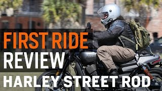 8. Harley Davidson Street Rod First Ride Review at RevZilla.com