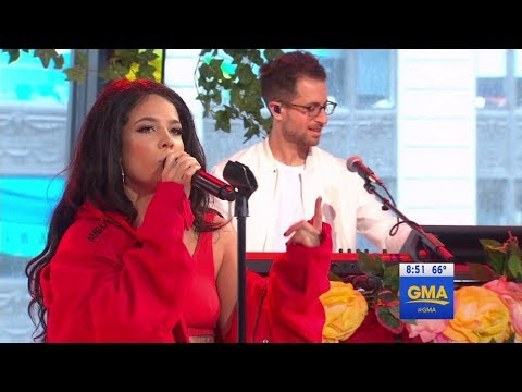 Video Halsey - Bad At Love Good Morning America download in MP3, 3GP, MP4, WEBM, AVI, FLV January 2017