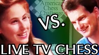 16 year old GM Judit Polgar plays GM Ron W. Henley on Live TV