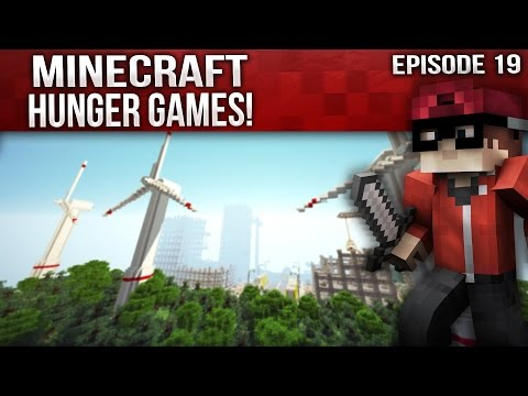 Minecraft Hunger Games: Episode 19 - My Texture Pack!