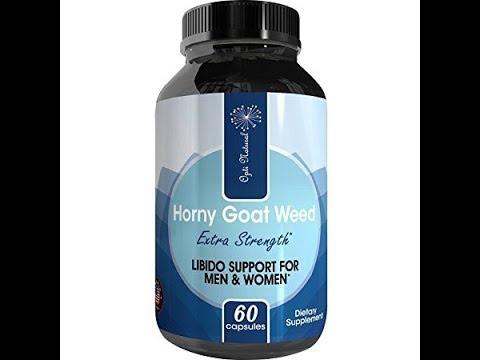 ureNatural Horny Goat Weed + Maca Root + Tongkat Ali + Ginseng – Boost Energy – Icariin Male Enhan