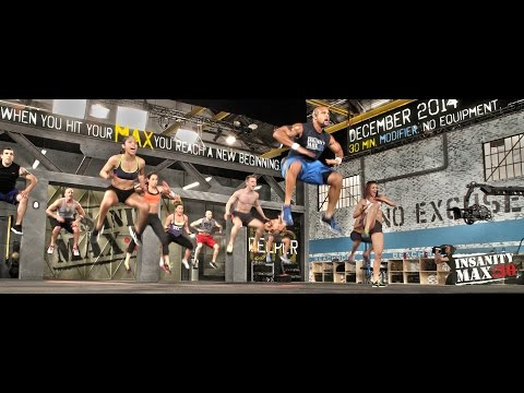 INSANITY MAX:30 Workout Trailer – Shaun T
