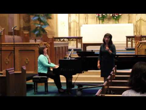 Colleen Monroe singing Ave Maria