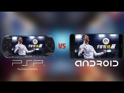 FIFA 18: Android VS PSP(PPSSPP) | Gameplay