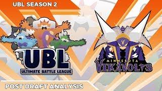 MY BEST TEAM EVER!? UBL Draft Breakdown! Minnesota Vikavolts! by aDrive