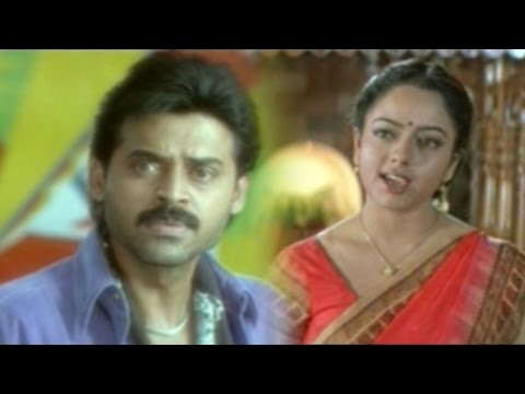 Raja Telugu Moive || Venkatesh Chenged Him Self Best Scenes