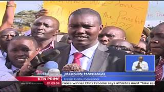 KTN Prime: Governor Mandago Maintains Stance Over University Row, 27/9/2016