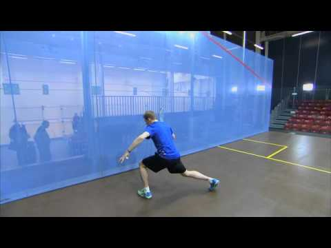 Nick Matthew Squash Coaching Tips Part 5 – Forehand Drive
