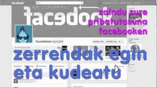 Facebook: zerrendak sortu eta kudeatu