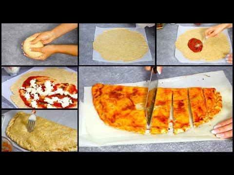 calzone pomodoro e mozzarella + pasta brisè senza burro