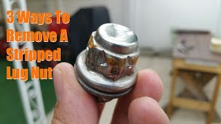 Download Lagu 3 Ways to Remove a Stripped Lug Nut Mp3