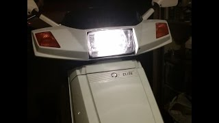 10. 89' Honda Elite Headlight Check and Switch Fix