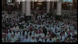 Friday Makkah 8/1/1431 الجمعة مكة الشريم