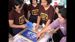 The 2nd Arsa Bangsaphan Youth Group Sells Fabric Bags to Help Vulnerable People