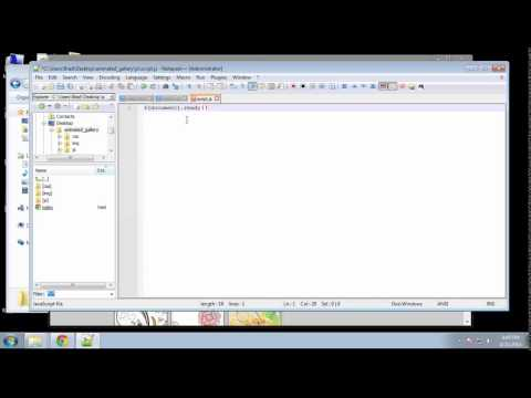 Projects in HTML5 – Chapter 12 – JQuery Quicksand Part 1