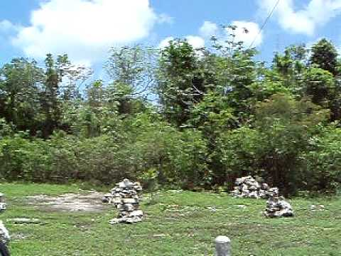 San Gervasio Archaeological Site Post Classic Period Central Plaza, Cozumel Island, Mexico