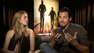 Where Hope Grows  Kris Polaha   Mckaley Miller Official Movie Interview
